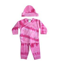 Baby Steps Tie Dye Hearts 3pc Take-Home Set