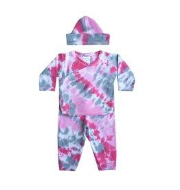 Baby Steps Tie Dye Bows 3pc Take-Home Set