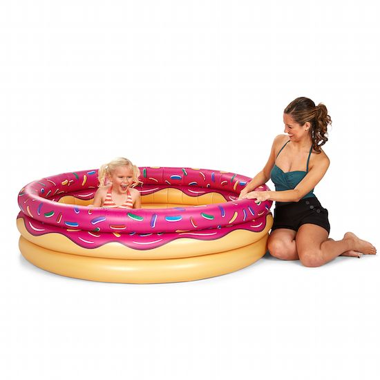 Pink Donut Lil' Inflatable Pool