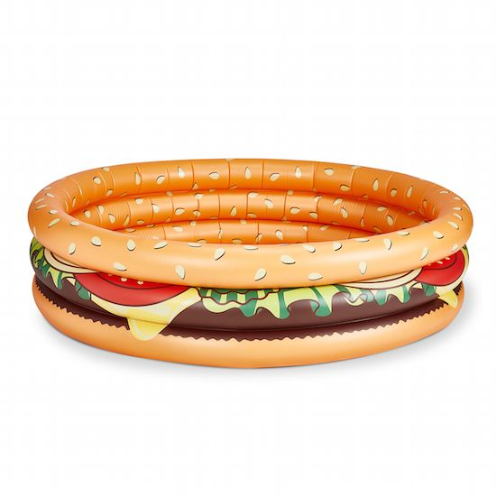 Cheeseburger Lil' Inflatable Pool