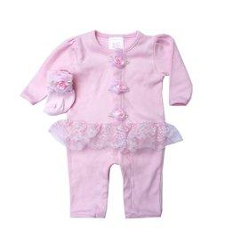 Too Sweet Peplum Rosette Outfit