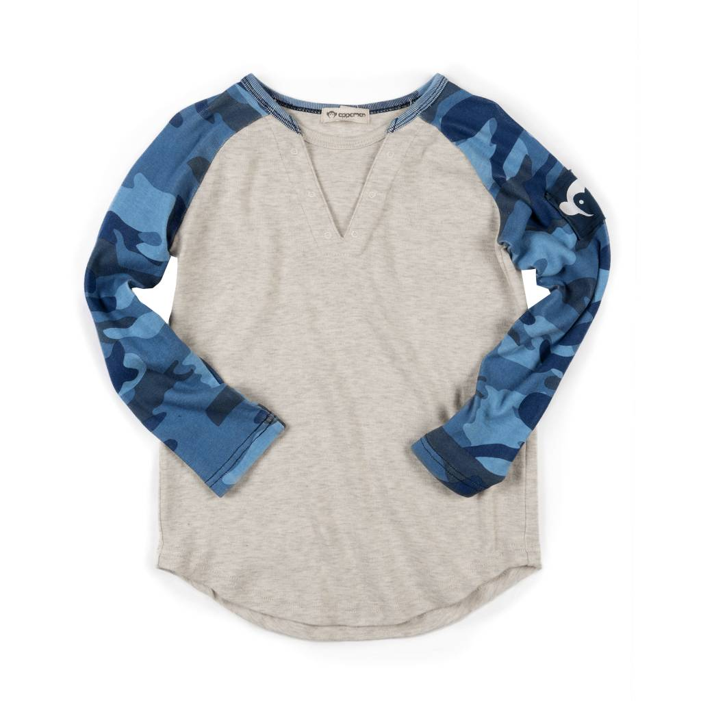 Appaman Camo Infant Baseball Top