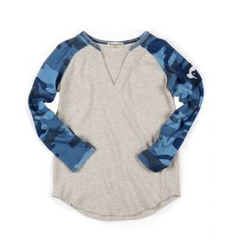 Appaman Camo Baseball Top