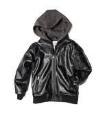 Appaman Faux Leather Bomber Jacket