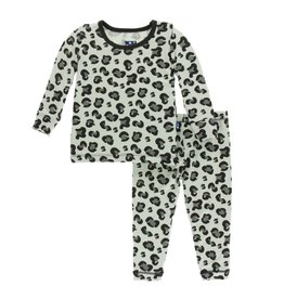 Kickee Pants Cheetah Print Pajama Set