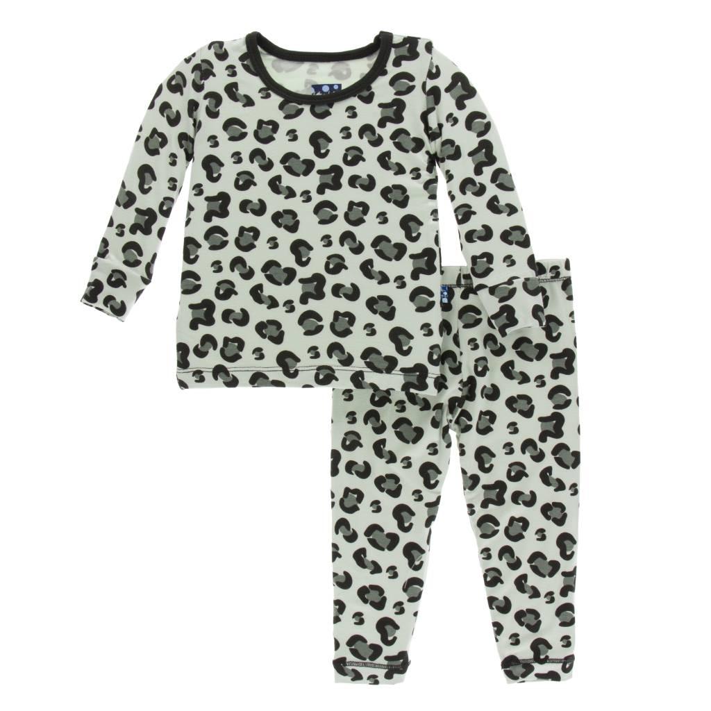 Kickee Pants Cheetah Print Pajama Set