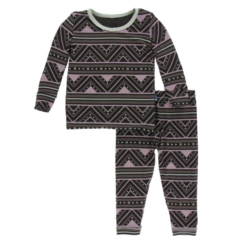 Kickee Pants African Print Pajama Set