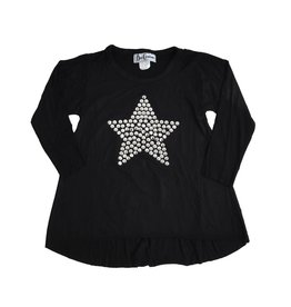 Dori Creations Silver Studded Star Top