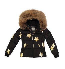 SAM Blake Fur Hooded Stars Jacket