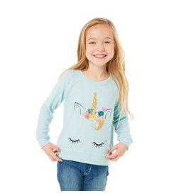 Chaser Unicorn Face Sweatshirt