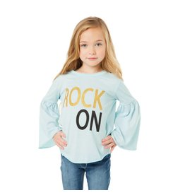 Chaser Rock On Top Bell Sleeve Top