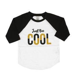 Just Be Cool Baseball Tee