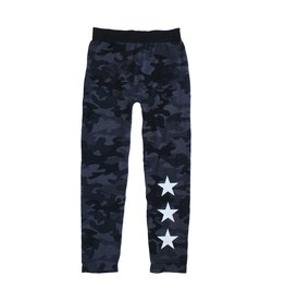 Malibu Sugar Camo Stars Leggings 7-14