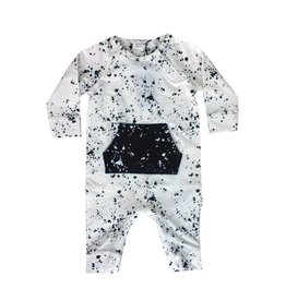Miles Baby Splatter Playsuit