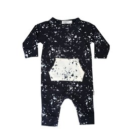 Miles Baby Splatter Playsuit
