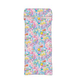 Chill Print Sherpa Sleeping Bag