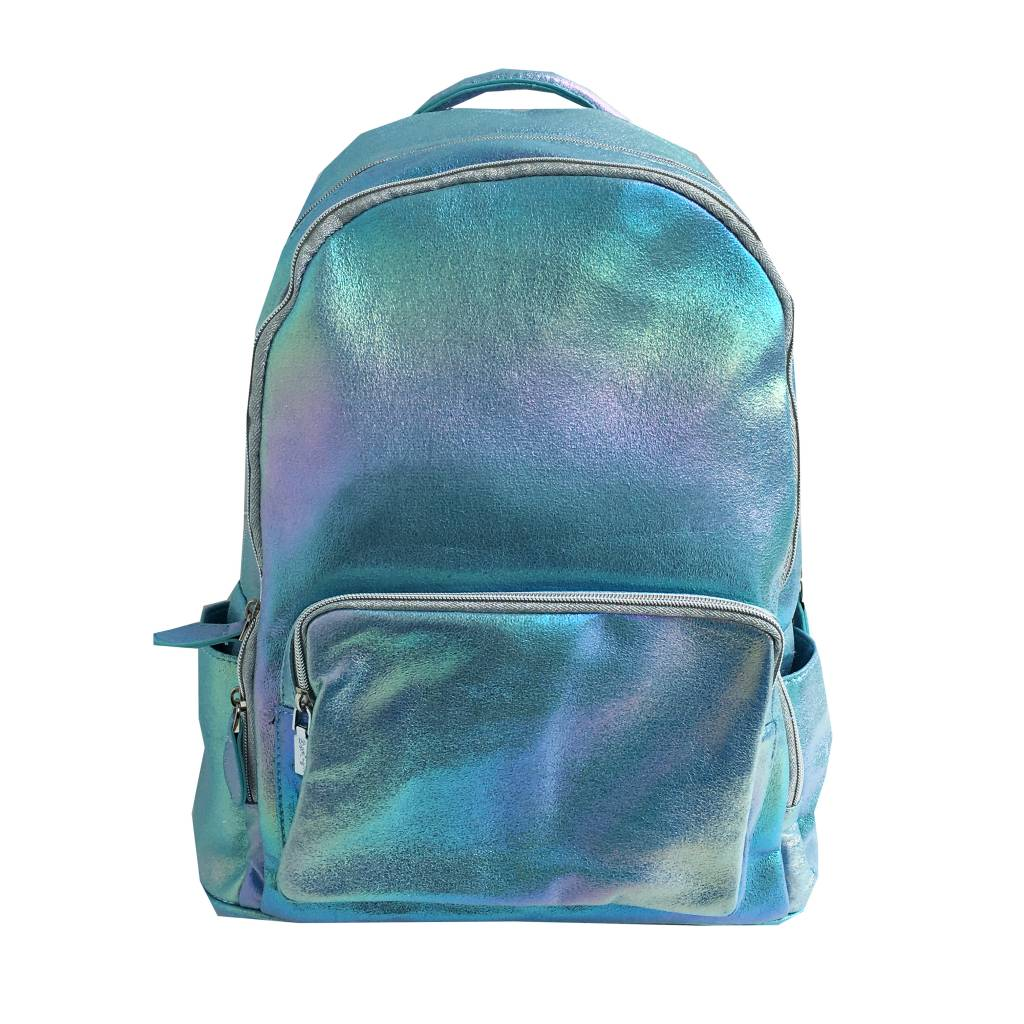 Bari Lynn Iridescent Backpack