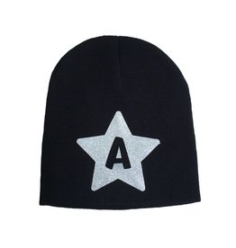 Custom Silver Initial Star Hat