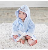 Baby Blue Crown Robe 0-9M
