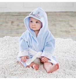 Baby Blue Crown Robe 0-9M