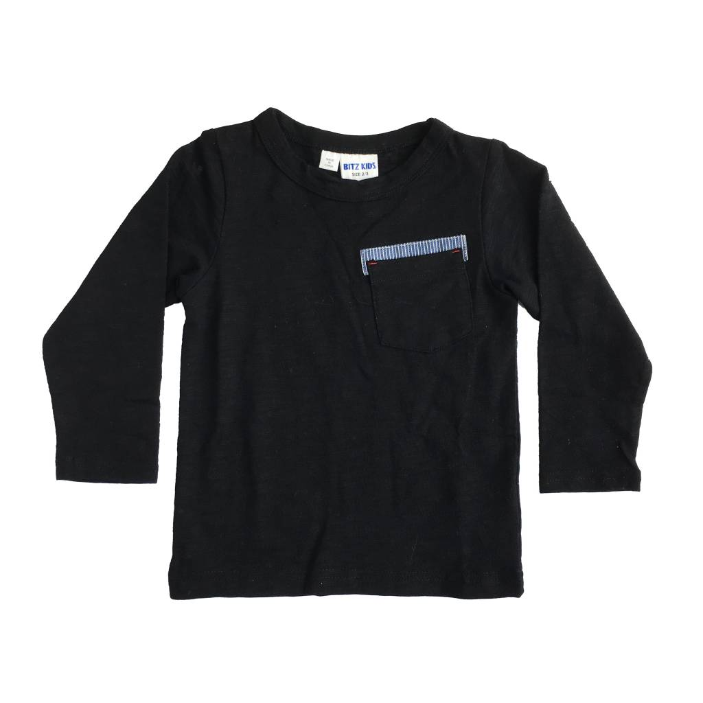Bit'z Kids Solid Pocket Top
