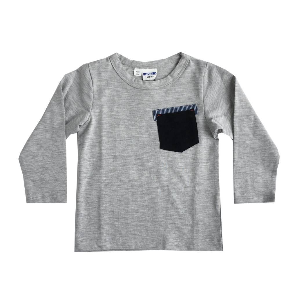 Bit'z Kids Solid Pocket Top