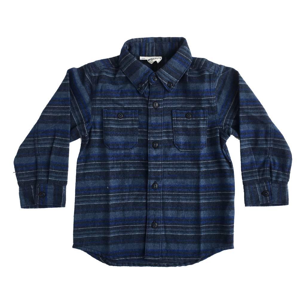 Bit'z Kids Striped Flannel