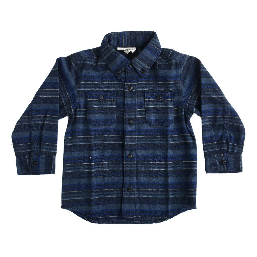 Bit'z Kids Infant Striped Flannel