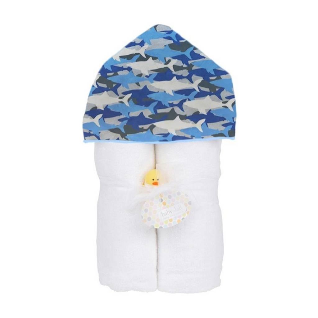 Baby Jar Shark Bite Hooded Towel