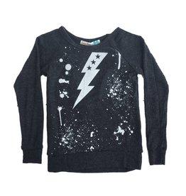 Vintage Havana Splatter Bolt Sweatshirt