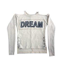Vintage Havana Dream Cold Shoudler Sweatshirt