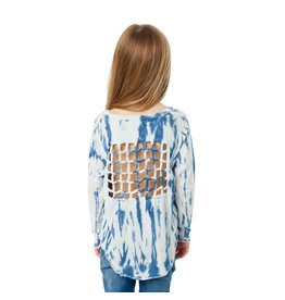 Chaser Knot Back Top