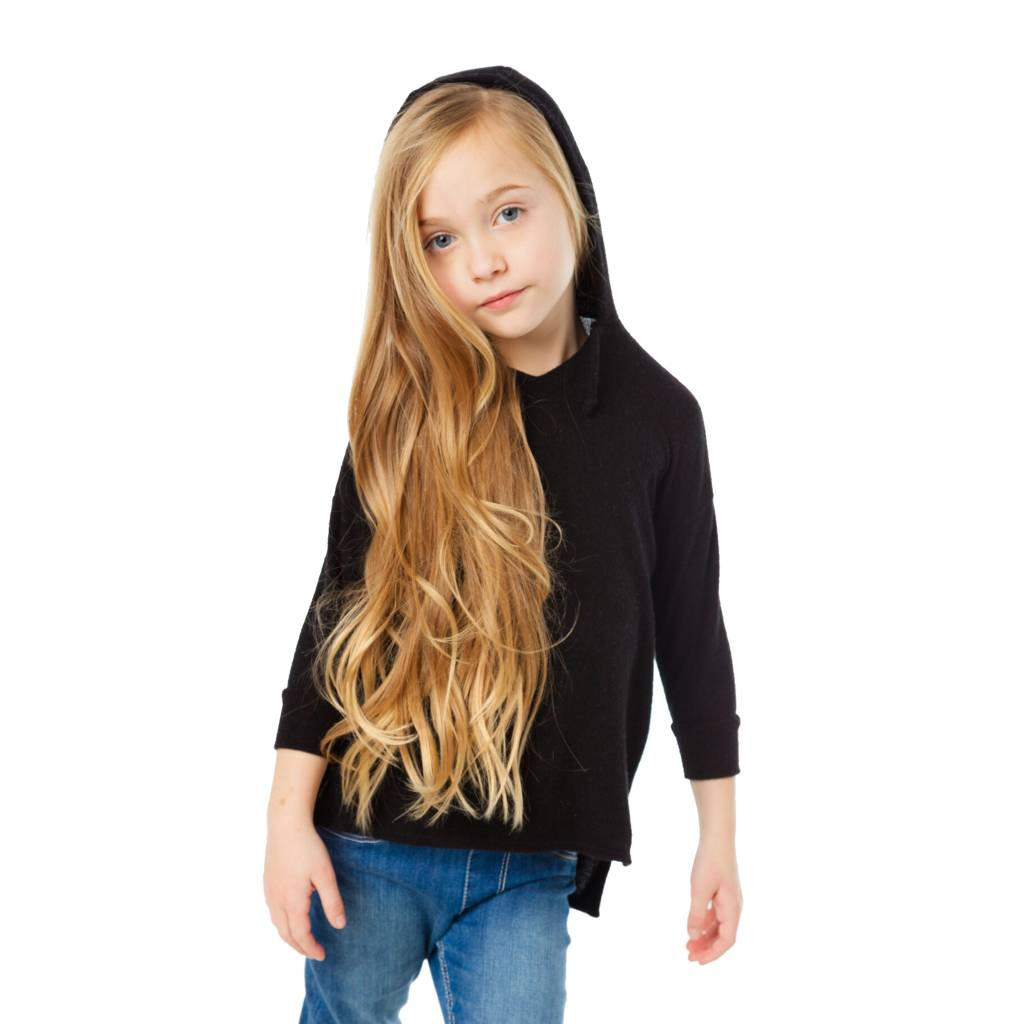 Chaser 3/4 Sleeve Soft Pullover Hoodie
