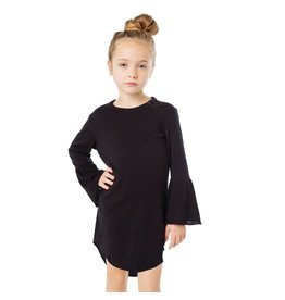 Chaser Bell Sleeve Basic Dress