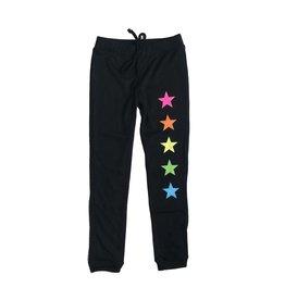 Malibu Sugar Rainbow Stars Lightweight Sweatpant