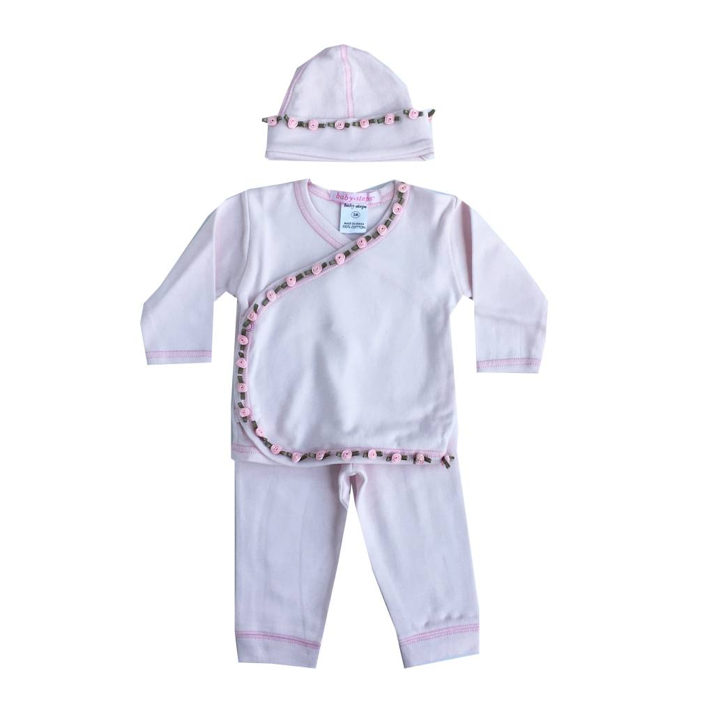 Baby Steps Mini Rosettes 3pc Take Home Set