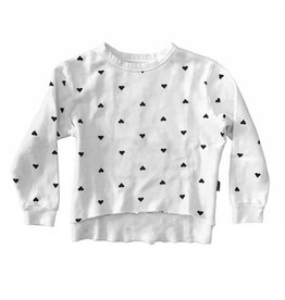 T2Love Scattered Hearts Pullover