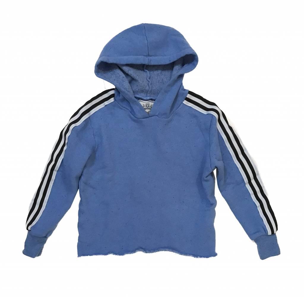 T2Love Stripe Pullover Hoodie