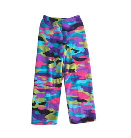 Love & Kisses Funky Camo Plush Pant