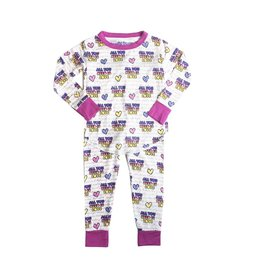 Rowdy Sprout Love 2pc PJ Set