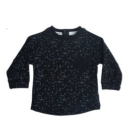 Miles Baby Dashed Top with Pocket