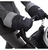7am Enfant Black/Grey Warmmuff Stroller Hand Muffs