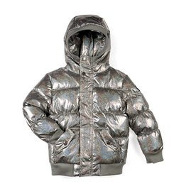 Appaman Sparkly Holgraphic Puffy Coat