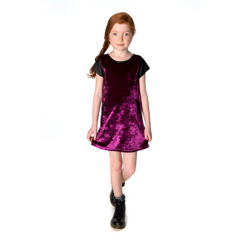 Appaman Crushed Velvet Dress