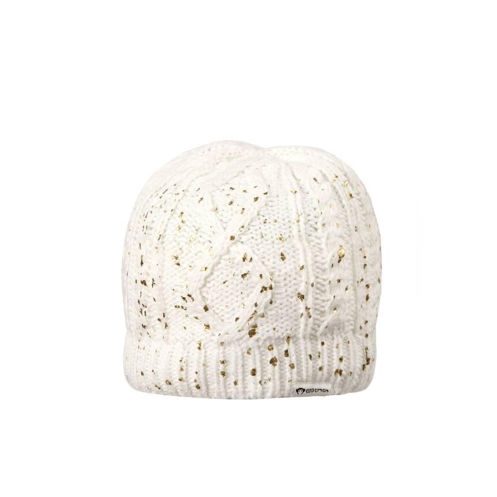Appaman Gold Sparkle Knit Hat