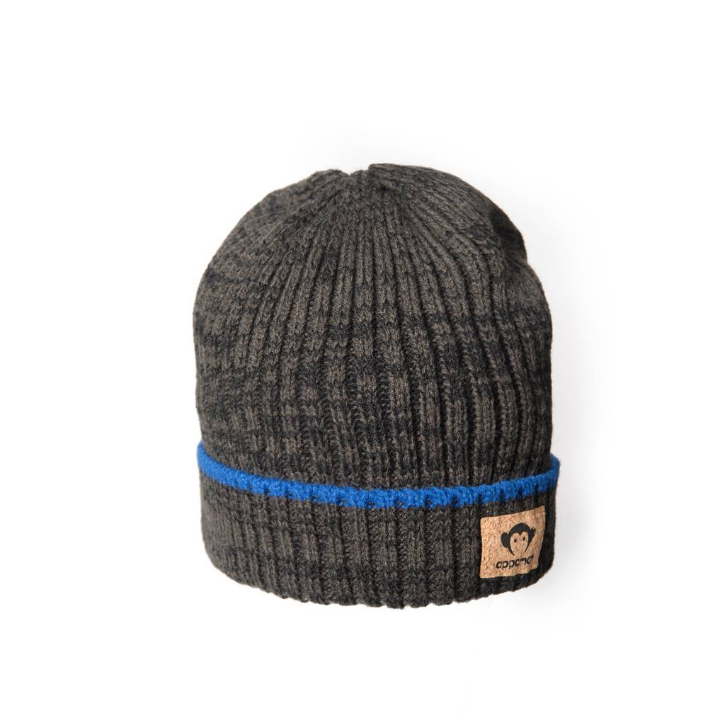 Appaman Color Blue Line Marled Hat