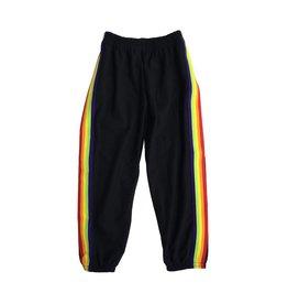 Dori Creations Rainbow Stripe Soft Jogger