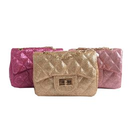 Chloe K Glitter Kids Purse