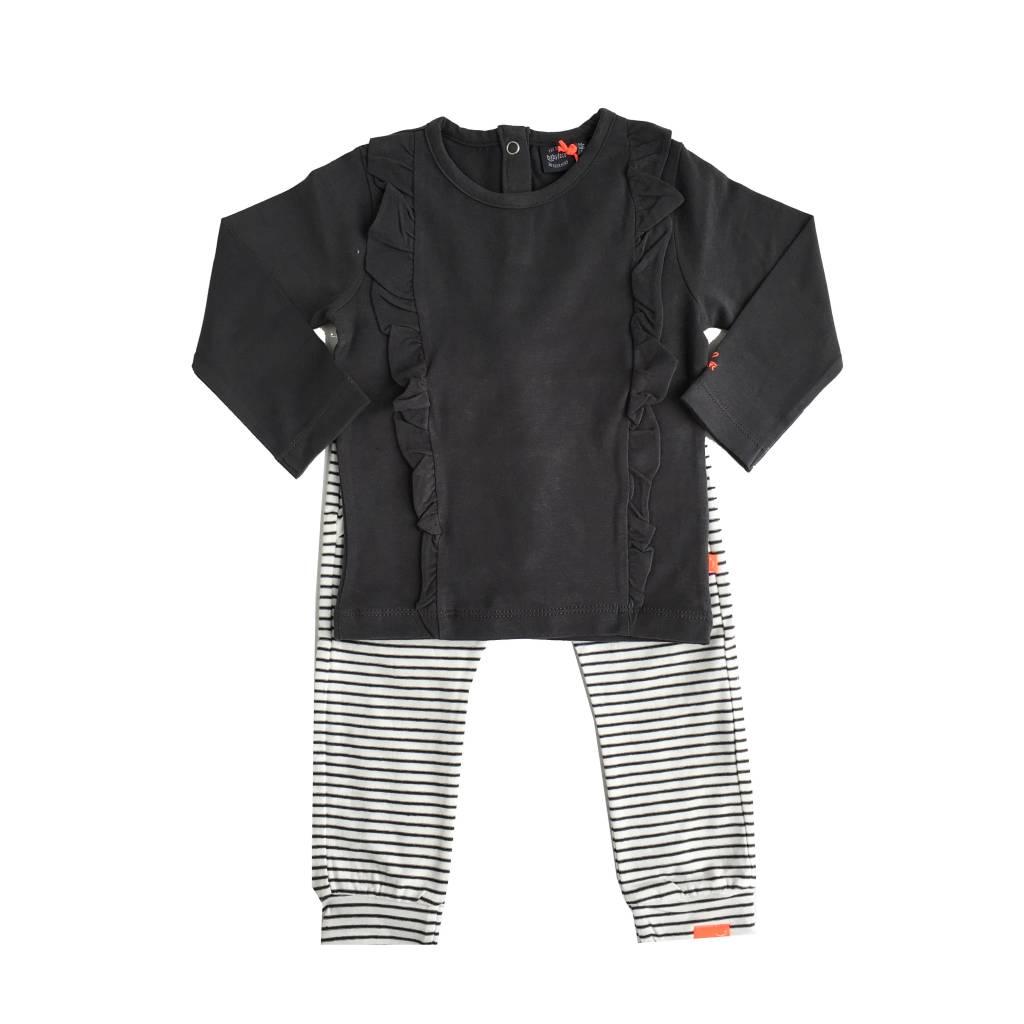 Babyface Ruffle & Stripe Set