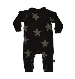 Nununu Black Star Playsuit